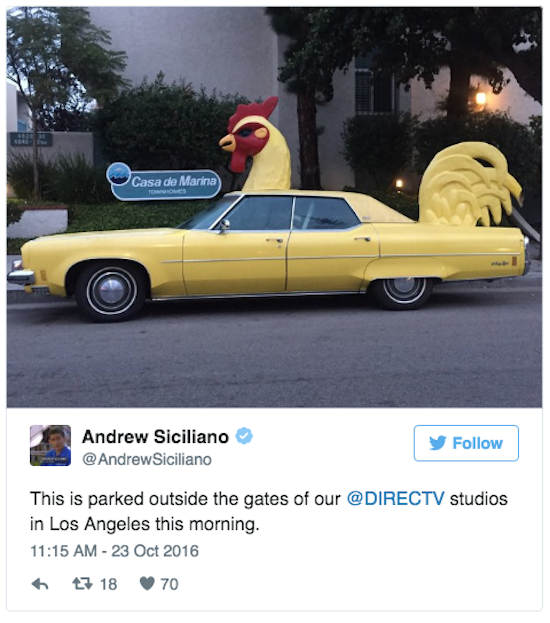 Turns Out The Car Is The Legendary El Gallo. And Of Course It Has Itu0027s Own  Twitter Account @El_Gallo1